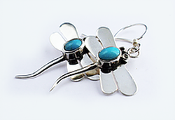 Earrings blue Image